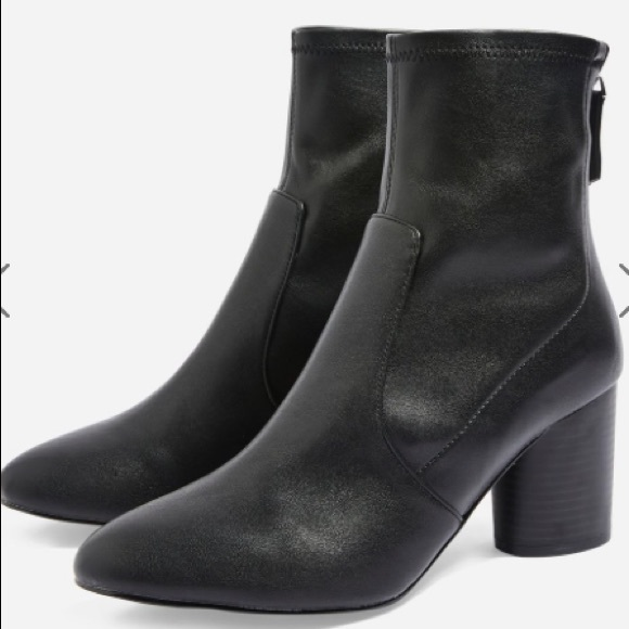 acbd1770d5d TOPSHOP - Bella Ankle Boots in Brown